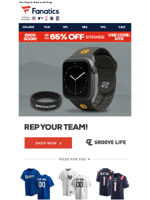 NHL - Trending Now: NFL Rings & Apple Watch Bands