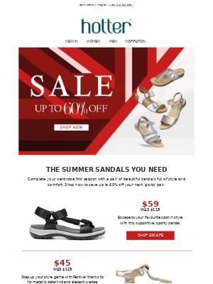 Save On Summer Sandals