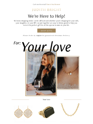Judith Bright Jewelry - Need Help Shopping For Your Girls? 🎁