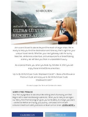 Princess Cruises - Welcome To Ultra-Luxury