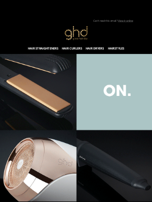 ghd (UK) - 🚨 Black Friday Sale   Limited edition tools added