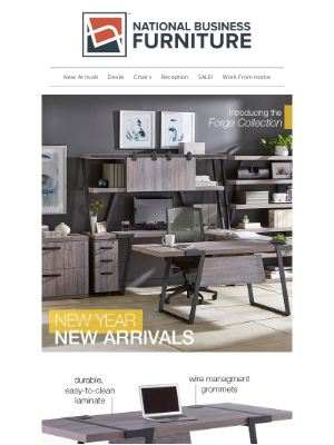 National Business Furniture - New for 2021 - Meet Forge