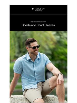Be Prepared: Shorts and Short Sleeves