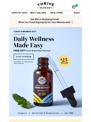 FREE feel-good gift ($25 value) 💚