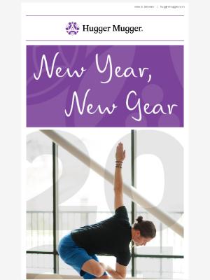 Hugger Mugger - New Year, New Yoga Mat 🎉 Enjoy 20% Off Mats, Towels, Rugs & Carriers