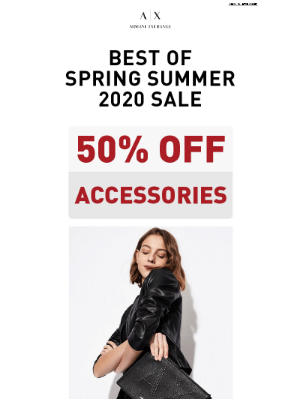 Must-have Accessories are 50% OFF