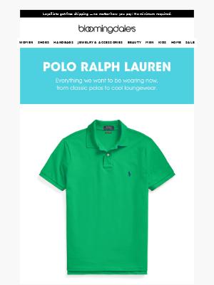 Prep your summer wardrobe with Polo Ralph Lauren