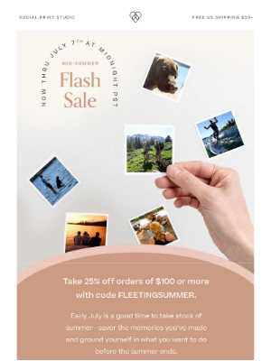 Social Print Studio - ⚡Mid-Summer Flash Sale⚡