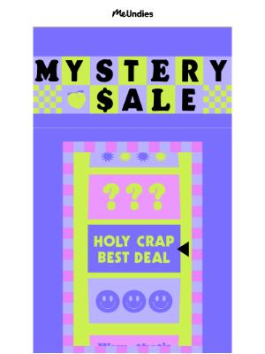 MeUndies - Mystery Sale 🔍