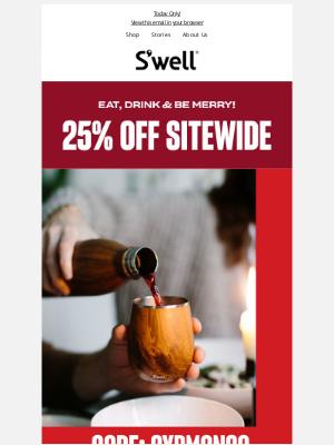 S'well Bottle - Cyber Monday Sale! 25% Off + Free Bottle