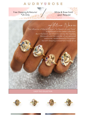 Audry Rose - NEW: Limited Run Of Mask Rings, Available Now!