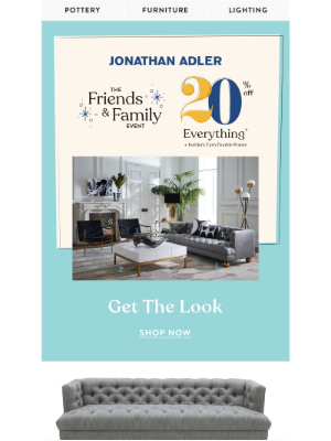 "Jonathan Adler - ""Love The New Living Room!"""