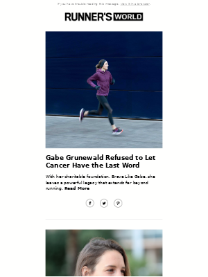 Gabe Grunewald Refused to Let Cancer Have the Last Word