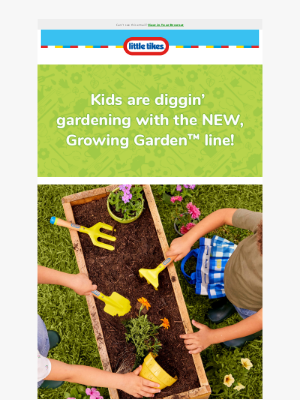Little Tikes - Grow Their Love of Gardening This Earth Day with Little Tikes!