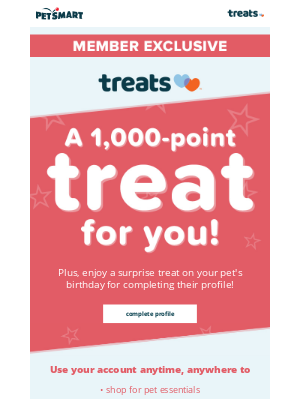 PetSmart - Check out your Treats offers & points! 👀