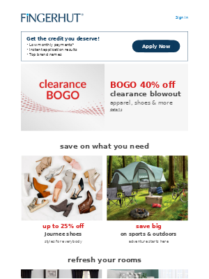 Fingerhut - Fingerhut: This CLEARANCE blowout is almost too good to be true!