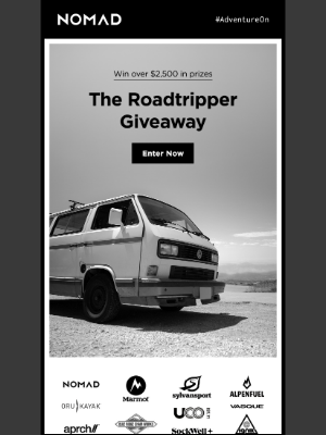 Nomad Goods - Are you ready for a roadtrip?