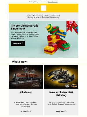 LEGO (UK) - Your weekly LEGO® newsletter