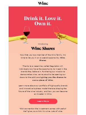 Introducing Winc Shares