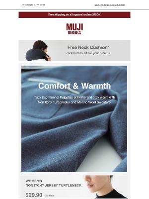 MUJI - New winter deals starting today!
