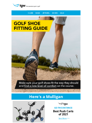 tgw - Do Your Golf Shoes Fit Properly?