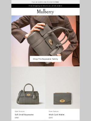 Mulberry (UK) - New In: Updated Icons
