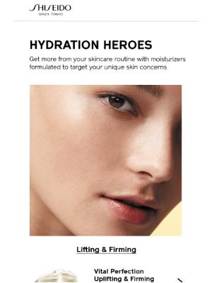 Shiseido - Meet Your Moisturizer Match
