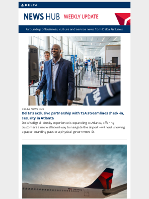 Delta Air Lines - Delta's exclusive partnership with TSA streamlines security in Atlanta