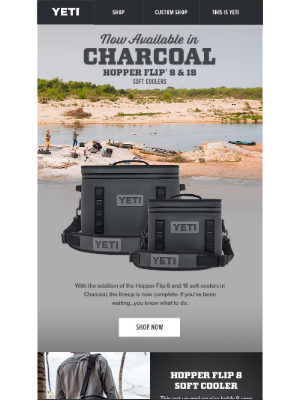 Get Yours: New Charcoal Cooler Options