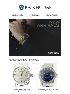 BeckerTime - New Arrivals On Sale Now!