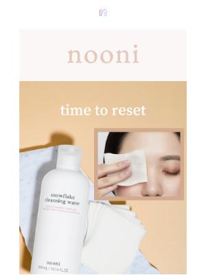 Memebox - reset & renew