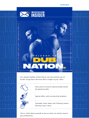 Golden State Warriors - Welcome To Dub Nation