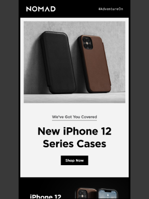 Nomad Goods - New iPhone 12 Cases are out now!