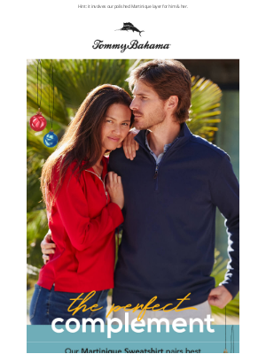 Tommy Bahama - Complete Your Look with Our Answer to Comfort