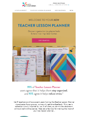Let's Set Up Your Teacher Lesson Planner!