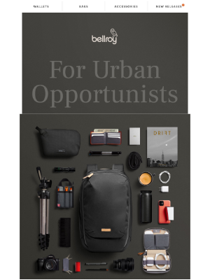 Bellroy - Are you ready to go?