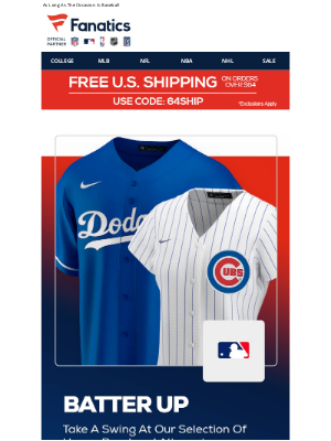 Mlbshop - A Jersey For Every Occasion...