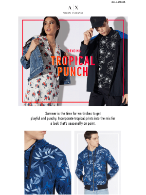 Trending: Tropical Prints + Shop The Private Sale!