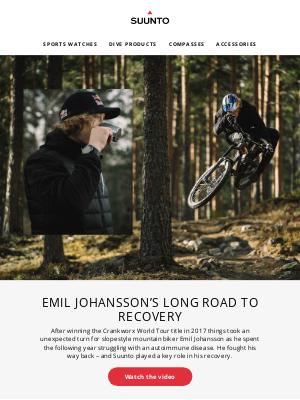 suunto - Emil Johansson's long road to recovery