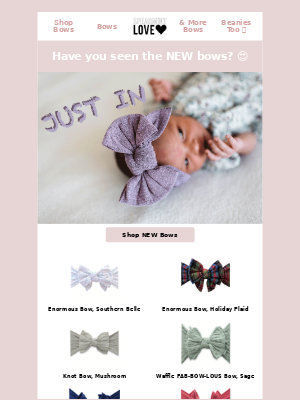 NEW Baby Bling Bows!