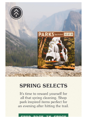 Parks Project - Grab Them Before They're Gone 🌲
