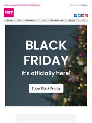 Very (UK) - Black Friday is finally HERE!!