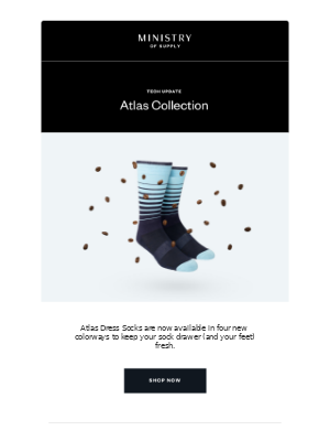 Just Landed: New Atlas Sock Colors
