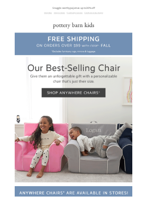 Williams Sonoma - *THE* comfiest seat in the house