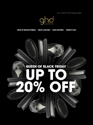 ghd (UK) - Today only: The OG styler now with £24 off