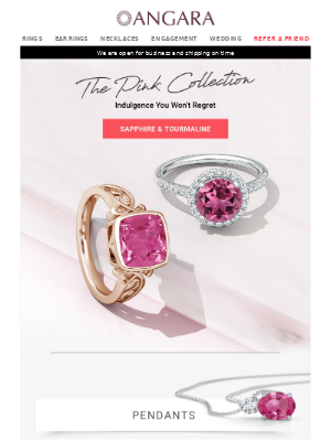 The Pink Collection: Don't get noticed, get remembered