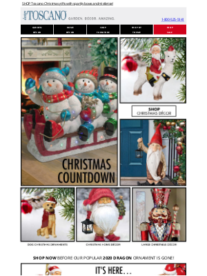 Design Toscano - 🎄Christmas Magic is in the air! Check out NEW holiday décor…