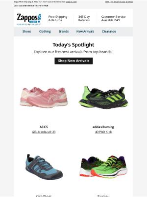 Zappos - Today's Spotlight: HOKA ONE ONE®, Brooks, ASICS, and more!