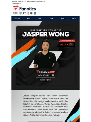 Fanatics - Rise Together: A Conversation With Jasper Wong