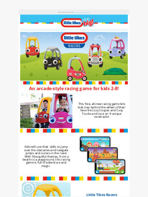 Little Tikes - Get in the Race with the Little Tikes Racers Mobile Game!